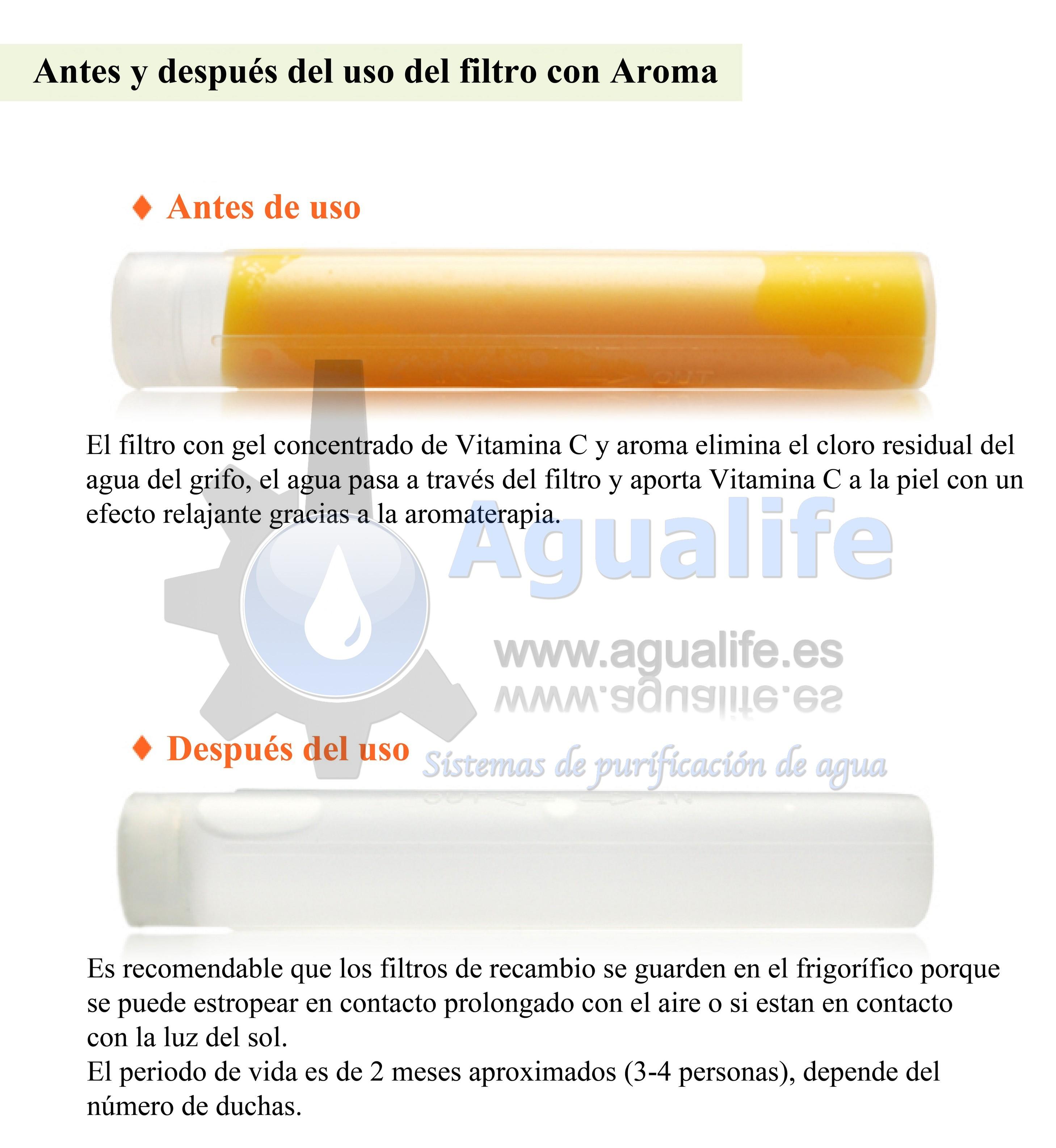 Filtro con Vitamina C